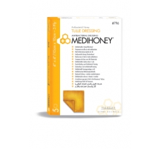 Image for MEDIHONEY Antibacterial Tulle 3-Ply Dressing