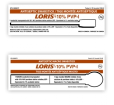 Image for Loris 10% Povidone-Iodine Swab Sticks