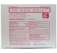 Image for Magic Bullett Suppositories