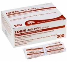 Image for Loris 10% Povidone-Iodine Wipes