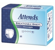 Image for Attends Overnight Breathable Briefs