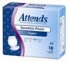 Image for Attends Shaped Pads
