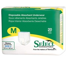 Image for Select Disposable Absorbent Underwear