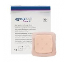 Image for Aquacel AG Foam Adhesive Dressing