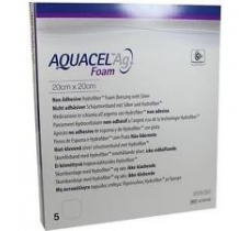 Image for Aquacel AG Foam Non-Adhesive Dressing